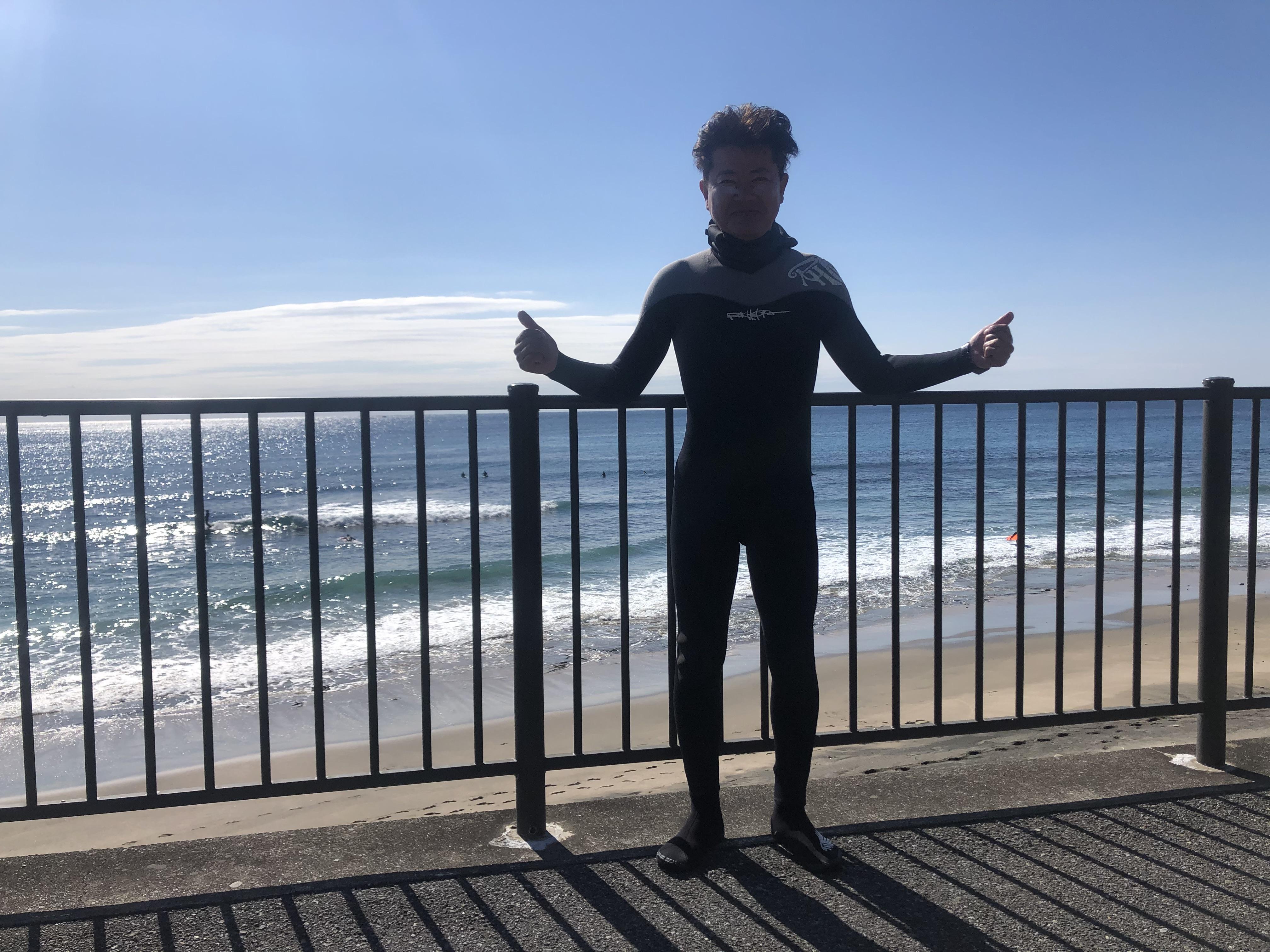 【3月25日(水)午前の部 / ステップアップ サーフィンスクール 】